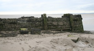 Northern end of Hest Bank Jetty