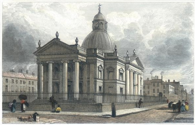 St Paul's Church, by John Harwood, 1831