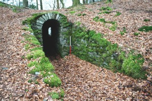 Stone tunnel at Allan Bank, Grasmere